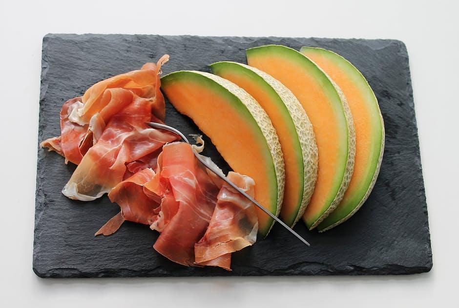 melon-ham-fruit-meat-39350